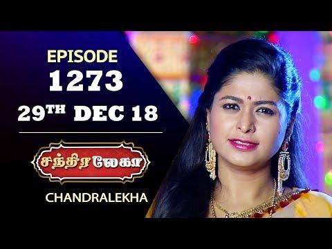 CHANDRALEKHA Serial | Episode 1273 | 29th Dec 2018 | Shwetha | Dhanush | Saregama TVShows Tamil