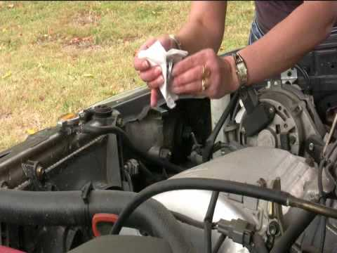 How to change a headlight bulb