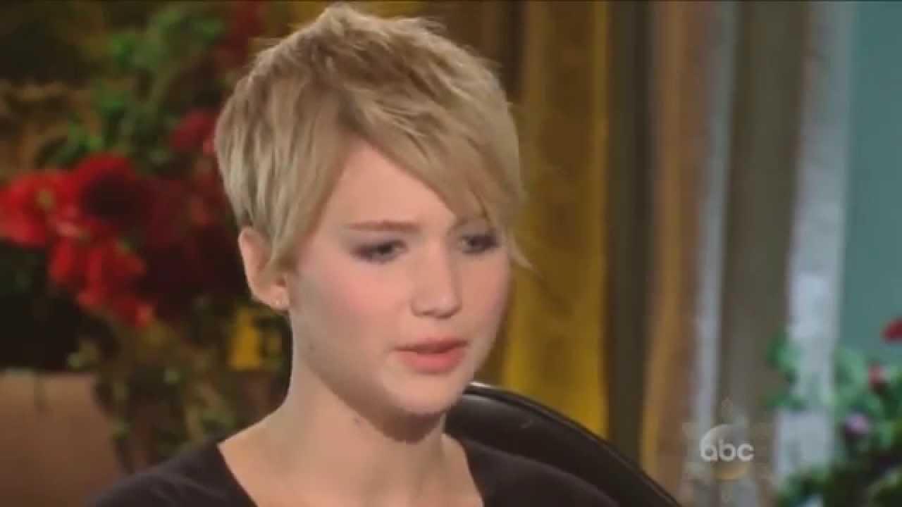Jennifer Lawrence talks about nude photo leak