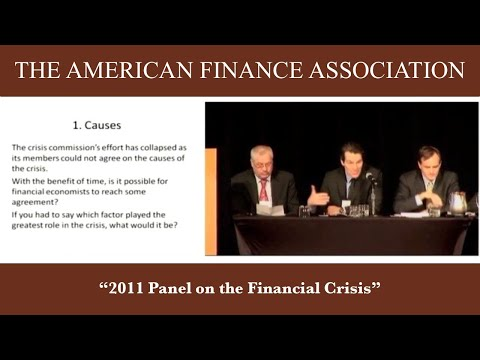 2011 Panel on the Financial Crisis