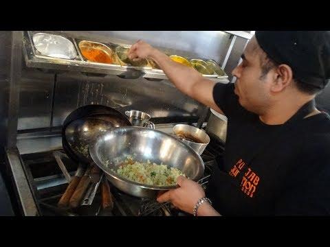 "Punjabi Samosa Recipe + Freshly made Aloo Paratha at ""Punjab Junction"" Restaurant in Harrow, London"