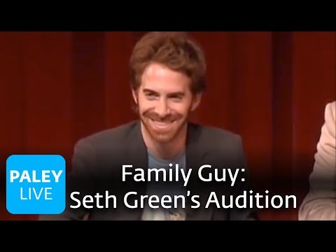 Family Guy - Seth Green's Audition (Paley Center) Video