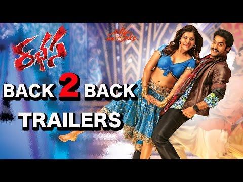 Jr. NTR's Rabasa Back to Back Trailers - Samantha, Pranitha - Rabhasa