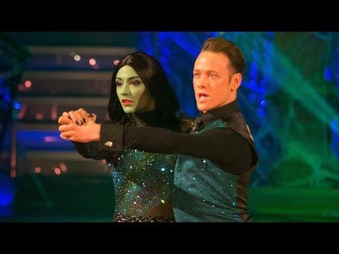 http://www.bbc.co.uk/strictly Frankie Bridge and Kevin Clifton dance the Tango to 'Defying Gravity'.