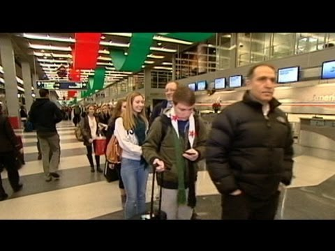 Millions Travel for Holiday, Face Delays in Stormy Weather
