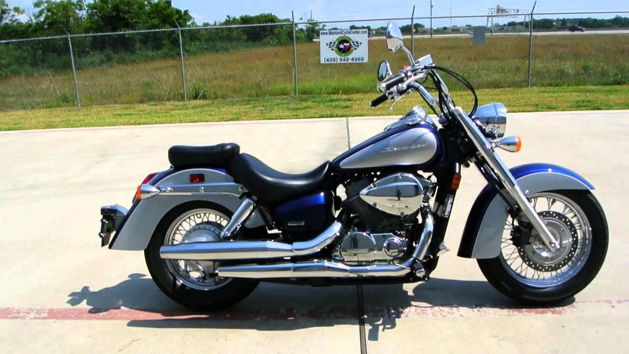 Honda Shadow Aero >> $5,999 2009 Honda Shadow 750 Aero with Only 700 Miles! Near New Condition! - YouTube