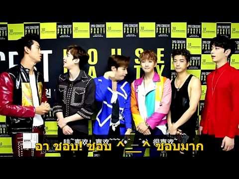 ซับไทย 2PM โปรโมท อัลบั้ม No5 - Baidu King Chart 3/7/15