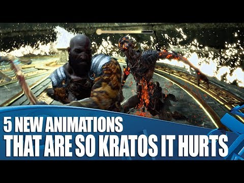 God Of War - 5 New Animations That Are So Kratos It Hurts thumbnail