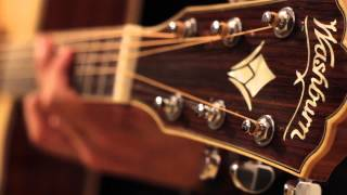 Serie Washburn Guitars - Artur Menezes, endorsee Washburn, em performance com o violão WD - 15SCE