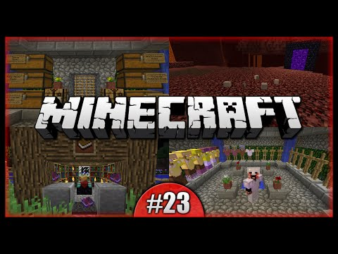 Python Plays Minecraft || Quartz Mania! Enchanting Grind! Books Galore! || Minecraft PC [Episode 23]