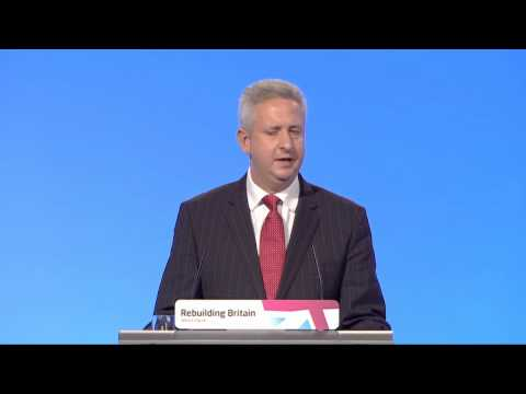 Ivan Lewis's speech to Labour Party Annual Conference 2012