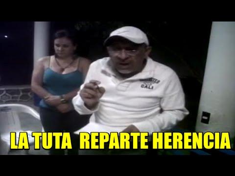 La Tuta repartiendo herencia en Zitácuaro, Michoacán