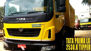 Tata Prima 2530.K LX Tipper Truck Ex-showroom Price, Payload Capacity, Specifications, Features