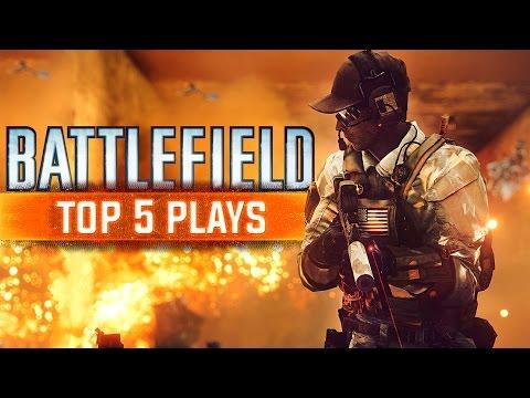 [PC] BATTLEFIELD TOP 5 PLAYS - EPISODE 6 - WINNERS WEEK