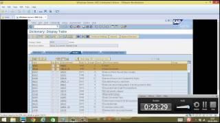 Day 3 - SAP Database Tables, relation, Maintenance