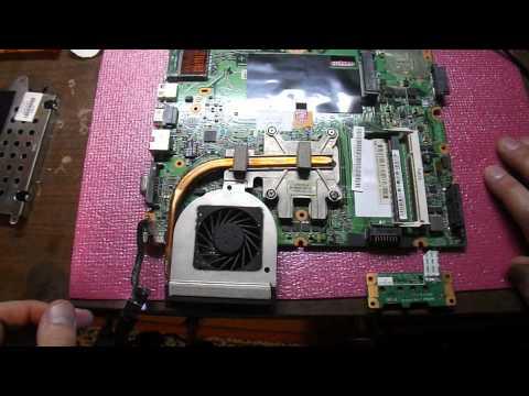 Ремонт ноутбука HP CQ50. Ремонт материнской платы