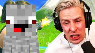 Alphastein trollt rewinside in Duo in Fortnite Battle Royale