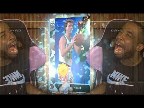 OMFG! WE FINALLY GOT BLACK MARKET! DIAMOND LARRY BIRD! NBA 2k16 MyTeam Pack Opening