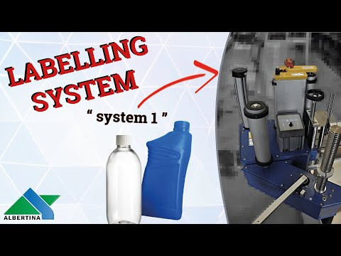 Albertina - Labelling machine mod. System 1 SURPRISE