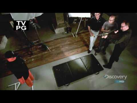 Time Warp On Discovery - Demonstration of what happens when a Taser X26C is used.