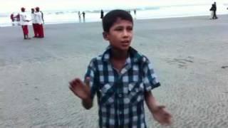 10-year old boy sings Bangla band song