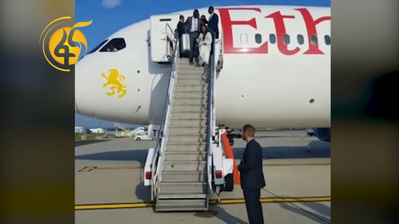 Ethiopian Prime Ministry arrived USA