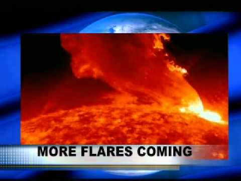 Giant Solar Flare from Sunspot 1302 Causes Geomagnetic Storm (2011)