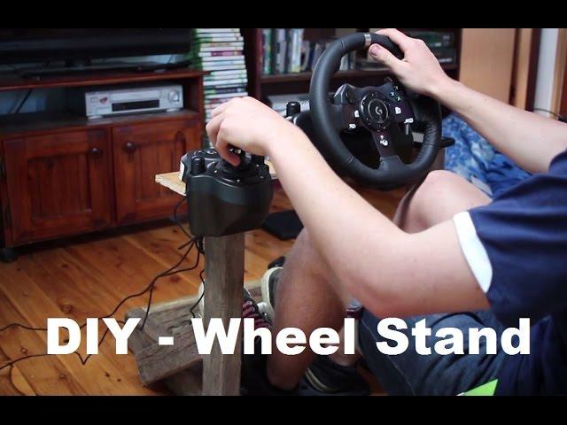 Budget Gaming Diy Wheel Stand Logitech G920 Www Noonews Ru
