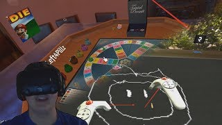 Tabletop Simulator VR - Trivial Pursuit and Draw My Thing