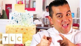 The Cheesiest Cheese Cake   Cake Boss