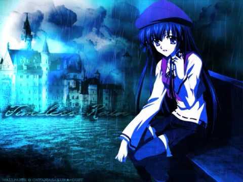 beautiful anime girl. Anime Goth Girls-Bye Bye