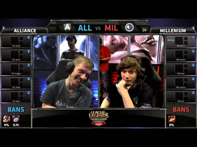 Alliance and Millenium spell CLG and TSM with their bans! much troll :)