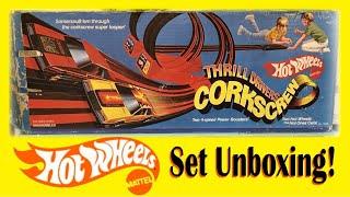 Super Rare Hot Wheels Turbo Mustang Thrill Drivers Corkscrew Set!