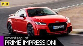 Audi TT RS (400CV) | Primo test [ENGLISH SUB]