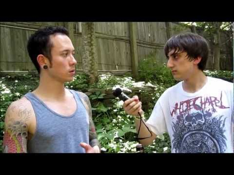 Interview with Matt Heafy of Trivium Rockstar Energy Drink Mayhem Festival July 22, 2011