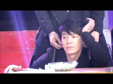 [Fancam][HD]130118 SJM JIANGSU TV Program - CuteHAE ♥ DongHae Focus