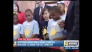Young Audiences Charter School Opening (WWL-August 9th)
