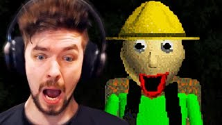 ALONE IN THE WOODS WITH BALDI | Baldi 's Field Trip