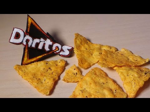 Polymer Clay Doritos Inspired Tutorial