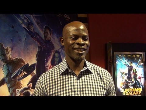 Disney Marvel Guardians Of The Galaxy Red Carpet Interview with Actor Djimon Hounsou