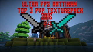 Minecraft | Ultra FPS Arttıran Best Top 3 PvP Texture Pack 2016 ! #4