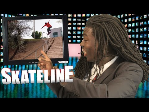 SKATELINE - Supreme Blessed, Tyshawn Jones, Grant Taylor, Zion Wright, Austyn Gillette