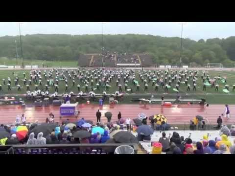 WCU Incomparable Golden Rams Marching Band,  9 13 2014