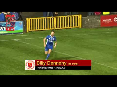 Goal: Billy Dennehy (vs Galway United 13/10/2017)