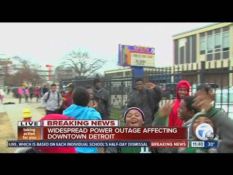 Detroit closes all schools early after power outage