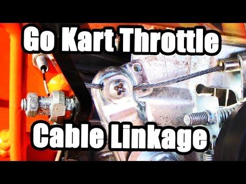 Up throttle go hook kart