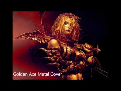 Golden Axe Metal Cover