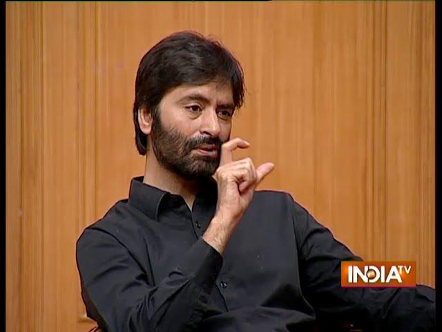 We Want An Independent Kashmir Says Yasin Malik - India TV