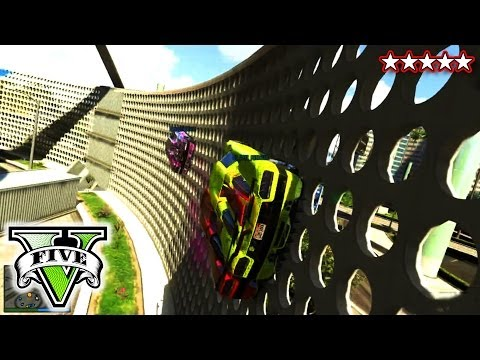GTA 5 AWESOME NEW RACES | GTA 5 Online Best Race Ever! | Anti-Gravity GTA Race