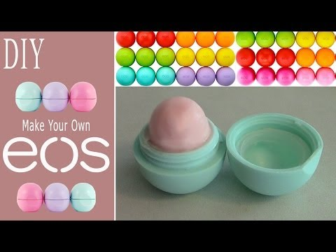 DIY: Make Your Own EOS Lip Balm! (Recycle Old EOS Container)